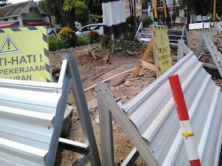 Renovasi Trotoar : Jalan Jendral Sudirman arah Tugu Jogja