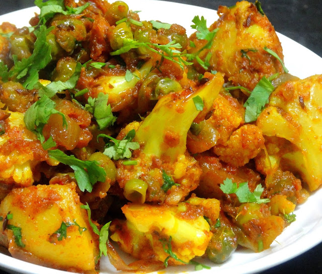 alu-gobi - Top 10 Indian food