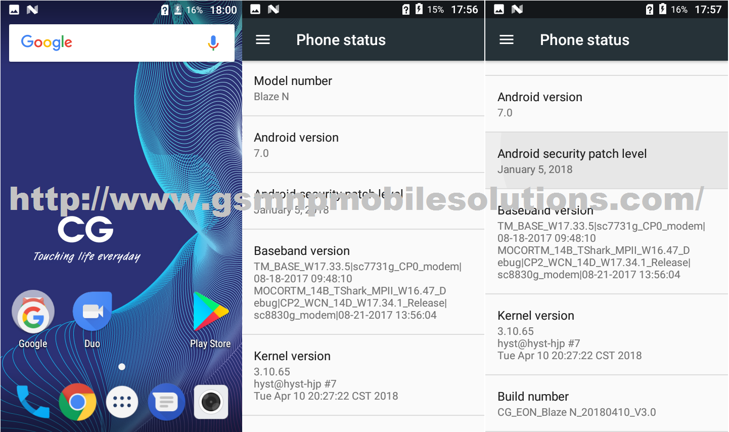 CG Blaze N Official Firmware Stock Rom/Flash File Download - GSM NP