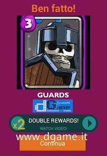 Soluzioni Quiz Clash Royale card livello 26