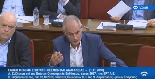Γιάννης Γκιόλας για την ΕΡΤ:  Οι απαιτήσεις από τη ΕΡΤ είναι πολύ μεγάλες (βίντεο)