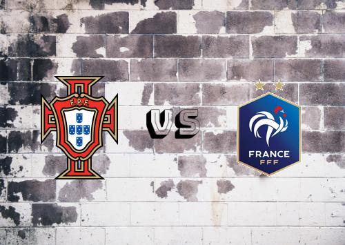 Portugal vs Francia  Resumen y Partido Completo