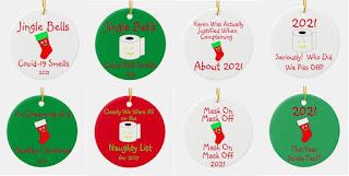 Funniest 2021 Christmas Ornaments