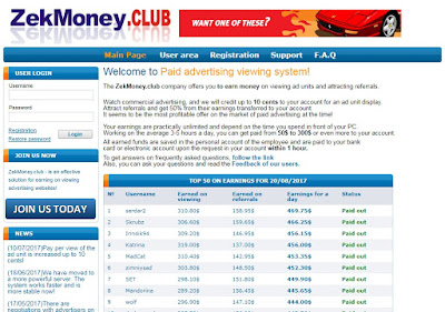 scam site tefmoney.club