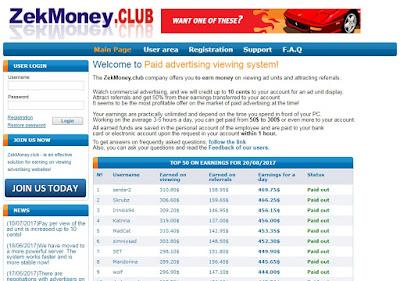 scam site tefmoney.club