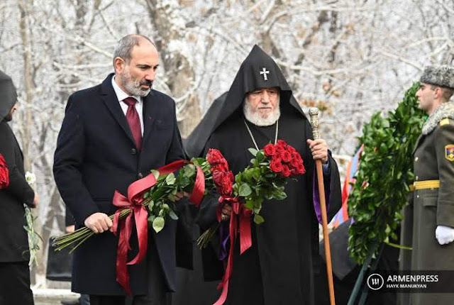 Recordamos y exigimos: 105 aniversario del Genocidio Armenio