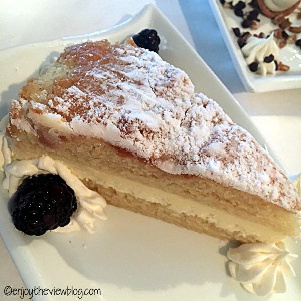 Lemon cream cake at Mom & Dad's Restaurant in Tallahassee is delicious! #adventuresofgusandkim #travelover50 #wheretoeatinTallahassee #enjoytheviewblogtravel