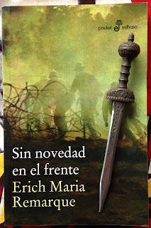 Portada del libro Sin novedad en el frente, de Erich María Remarque