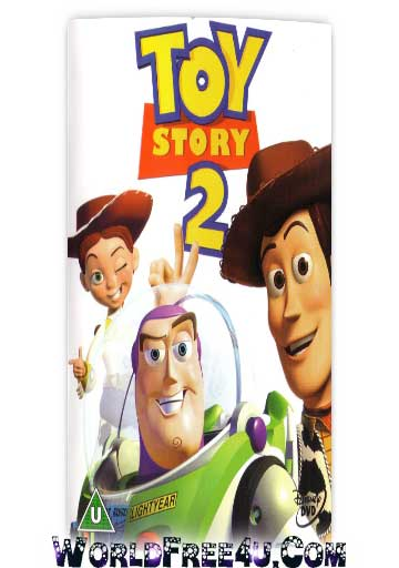 Poster Of Toy Story 2 In Dual Audio Hindi English 300MB Compressed Small Size Pc Movie Free Download Only At worldfree4u.com