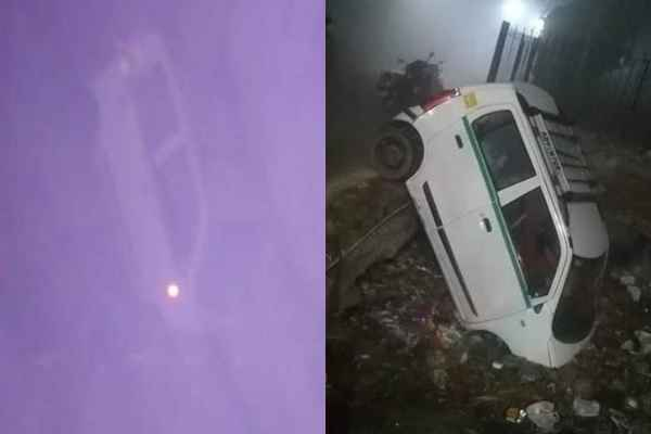faridabad-ballabhgarh-uncha-gaon-car-fall-in-nala-uncha-gaon-news