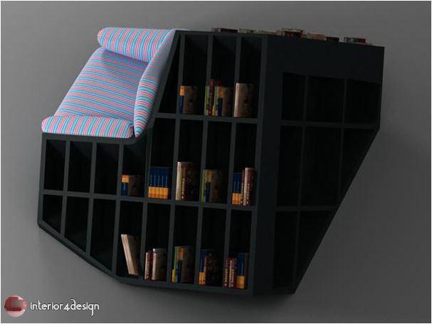 70 Best Bookshelf Designs 34