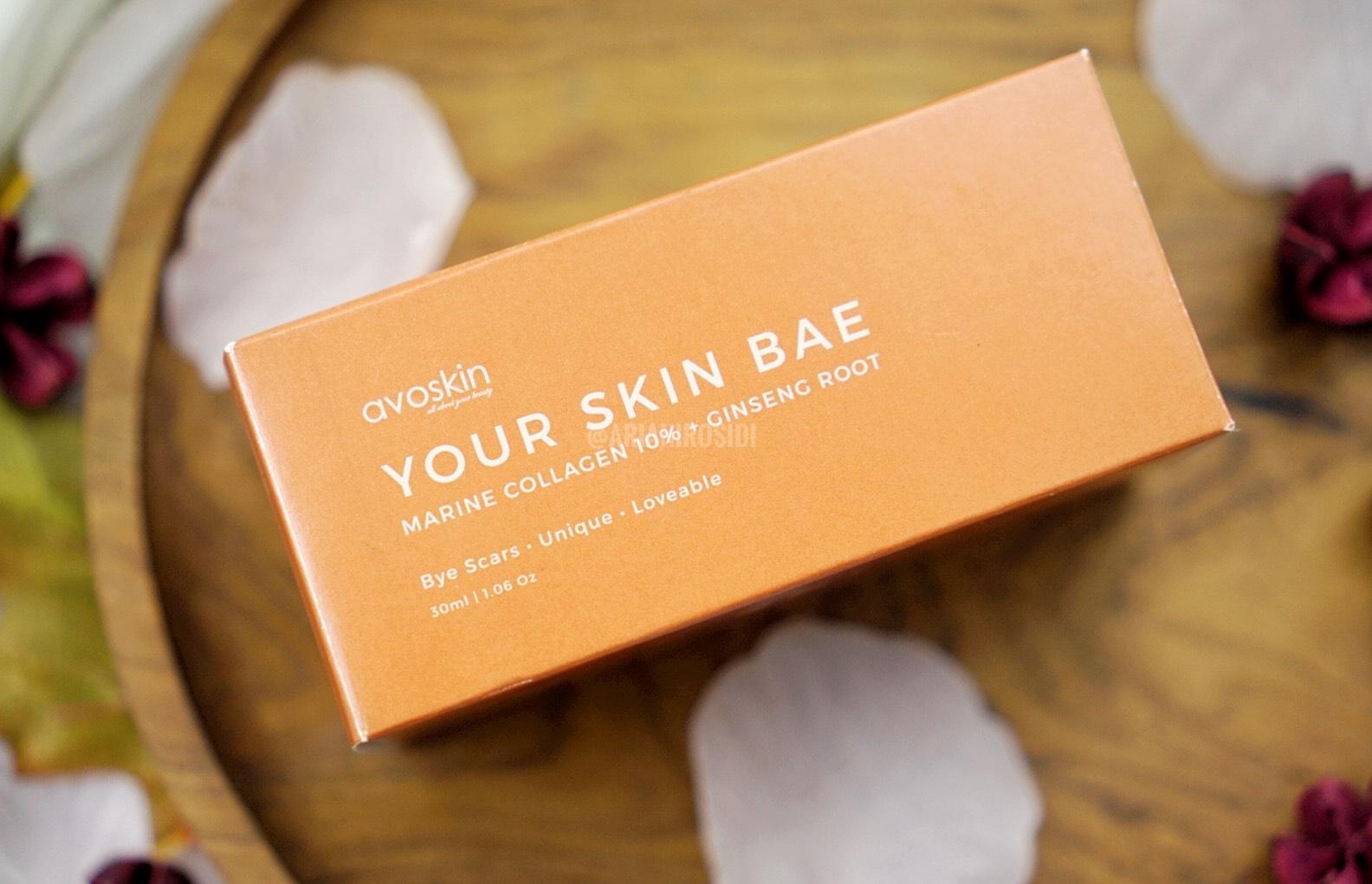 Avoskin Your Skin Bae Niacinamide 7% + Alpha Arbutin 1% + Kale dan Marine Collagen 10% + Ginseng Root Review