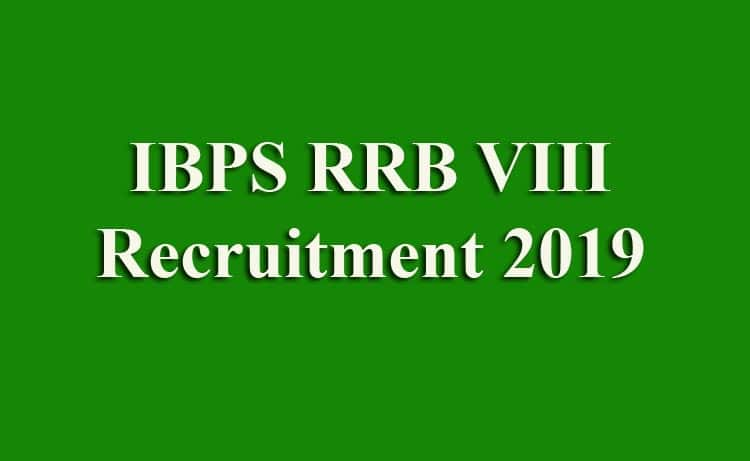 IBPS RRB VIII Online Form 2019