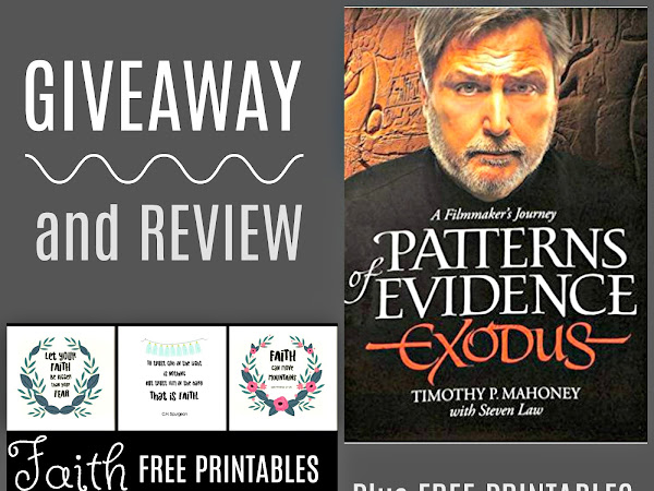 Faith: Free Printables and DVD Giveaway
