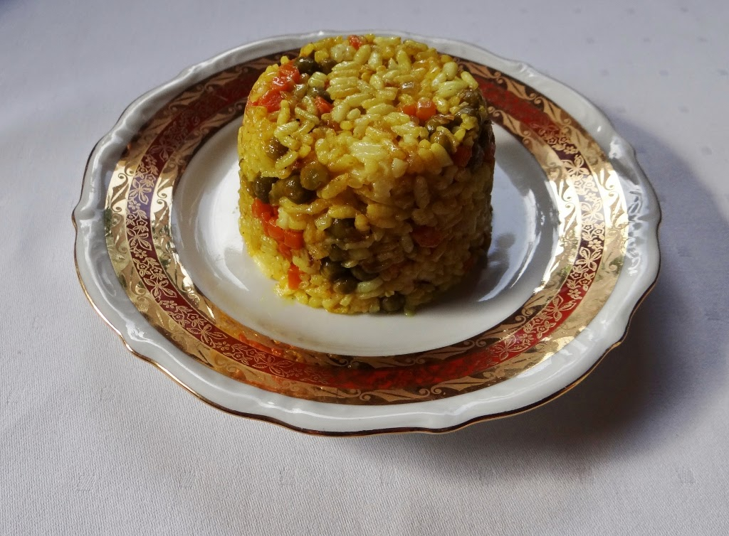 Risotto z curry