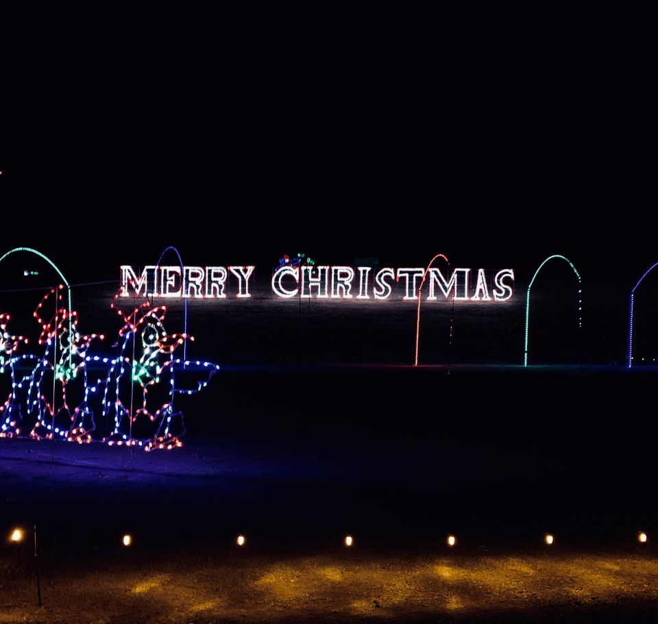 Merry Christmas lights #FOL #ad