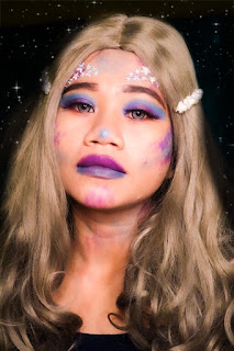 Art makeup ameliasepta mermaid makeup
