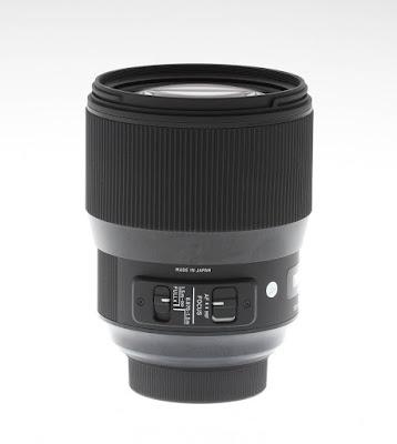 Sigma 135mm f/1.8 DG HSM Art, переключатели режимов автофокусировки