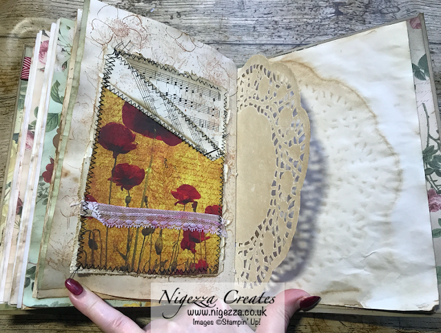 Nigezza Creates My First Junk Journal: Book Page Pocket