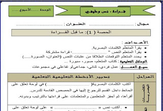 جذاذات-نمطية-جميع-المكونات-اللغة-العربية-المستوى-الثالث-المنهاج-الجديد