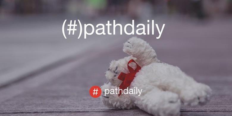 Cara Menggunakan Fitur Pathdaily di Path