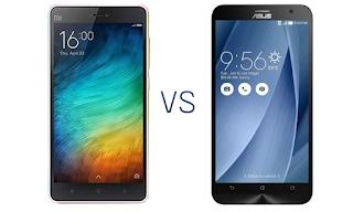 Xiaomi Mi 4i vs Asus ZenFone 2