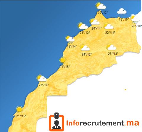 Météo Maroc - Vendredi 17 Avril 2020