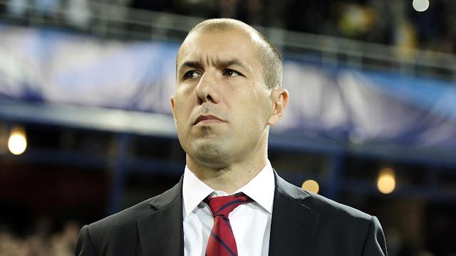 Leonardo Jardim coach de Monaco en avant-match