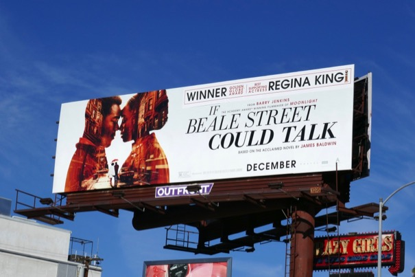 If Beale Street Could Talk Regina King Golden Globe billboard
