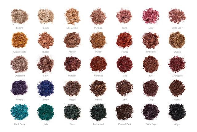 Make-up, Jacyln Hill x Morphe Palette, Morphe, Jaclyn Hill