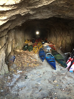 The caves looked the perfect place to hide a kidnap victim