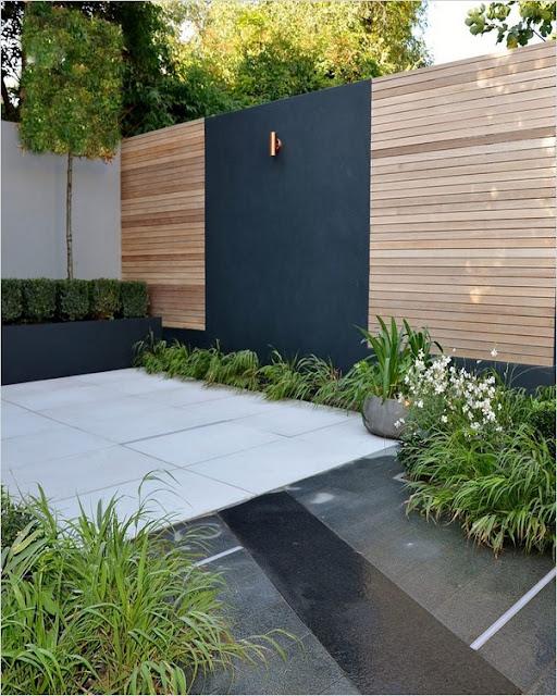 contemporary garden patio design ideas plants images