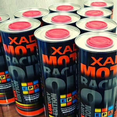 Dầu nhớt Xado Luxury Moto Racing 10W40 SN/MA2