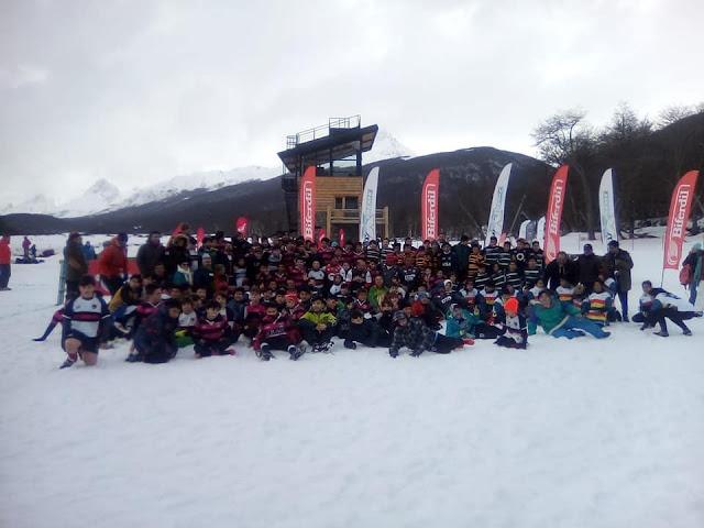 El rugby volvió al Cerro Castor