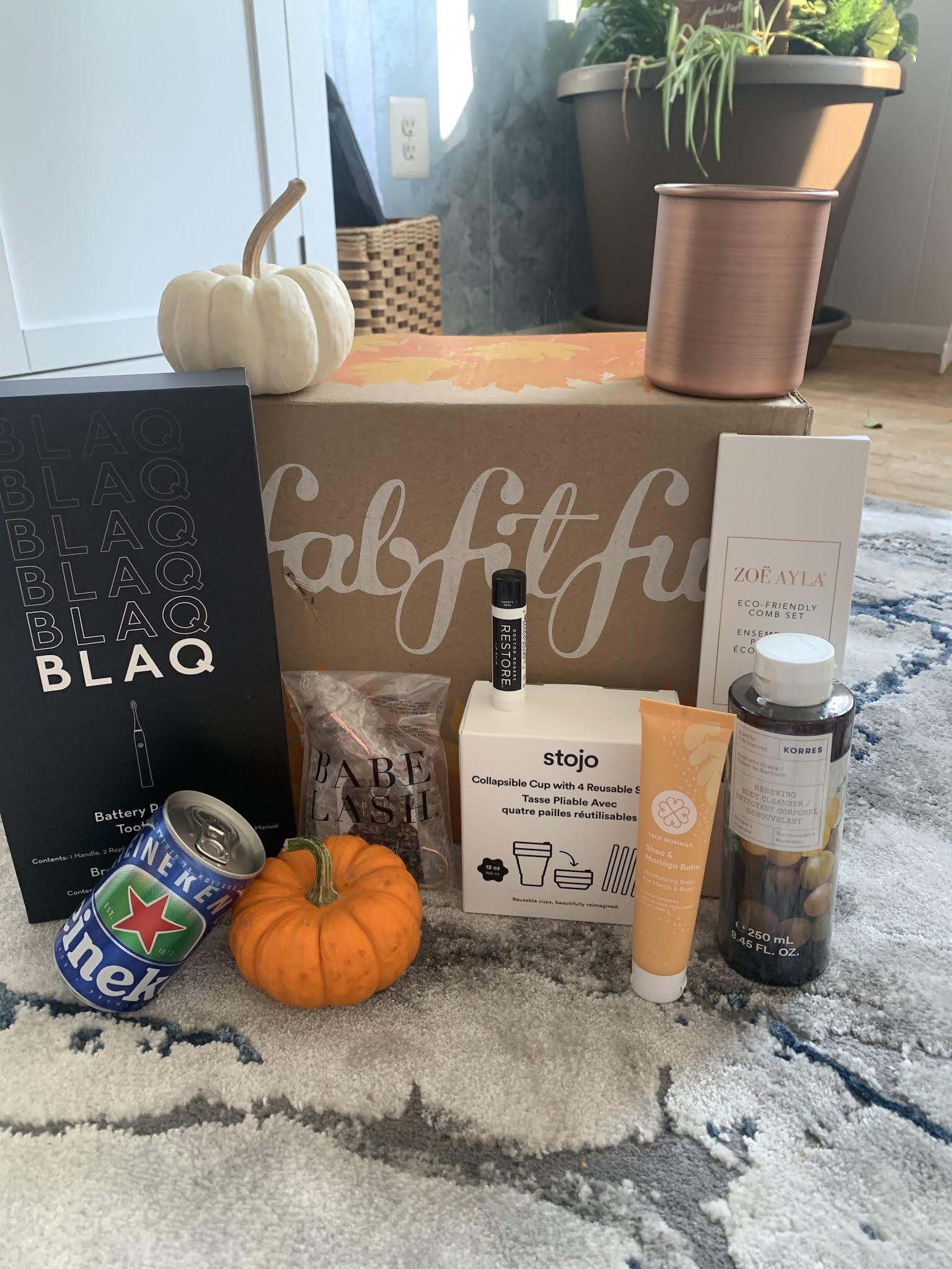 Fab Fit Fun Fall Box Reveal + Discount Codes