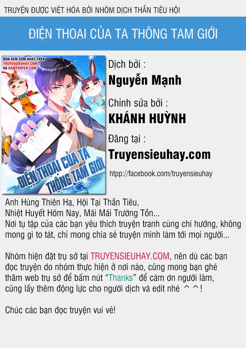 Điện thoại của ta thông tam giới chapter 160 video - Upload bởi truyensieuhay.com