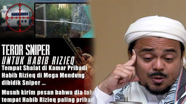 Pertama Hoax Undangan Raja Salman, Kini Hoax Rizieg Di Incar Sniper, Besok Apa Lagi Ya