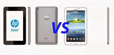 Samsung Galaxy Tab 3 7.0 vs HP Slate 7