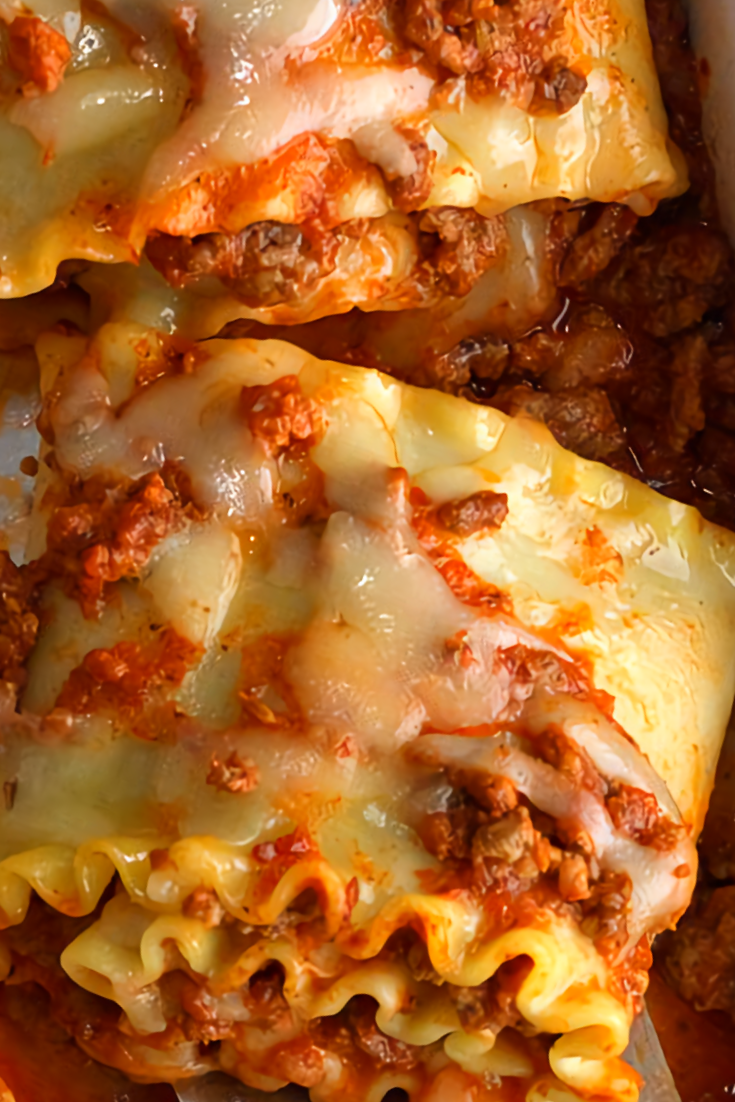 Easy Lasagna Roll Recipe