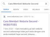 Cara Membeli Website Second