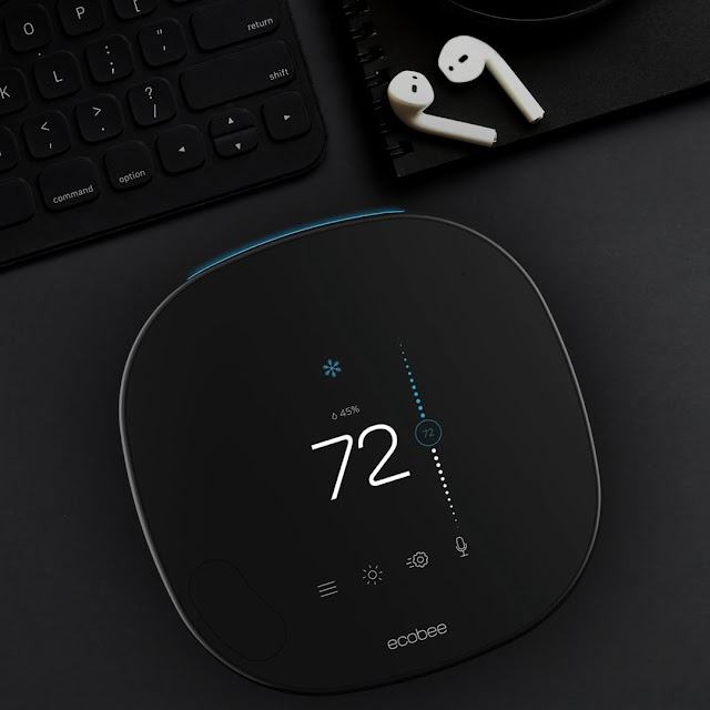 ecobee SmartThermostat with voice control and SmartSensor Review - Nimble Sleeker and Louder!