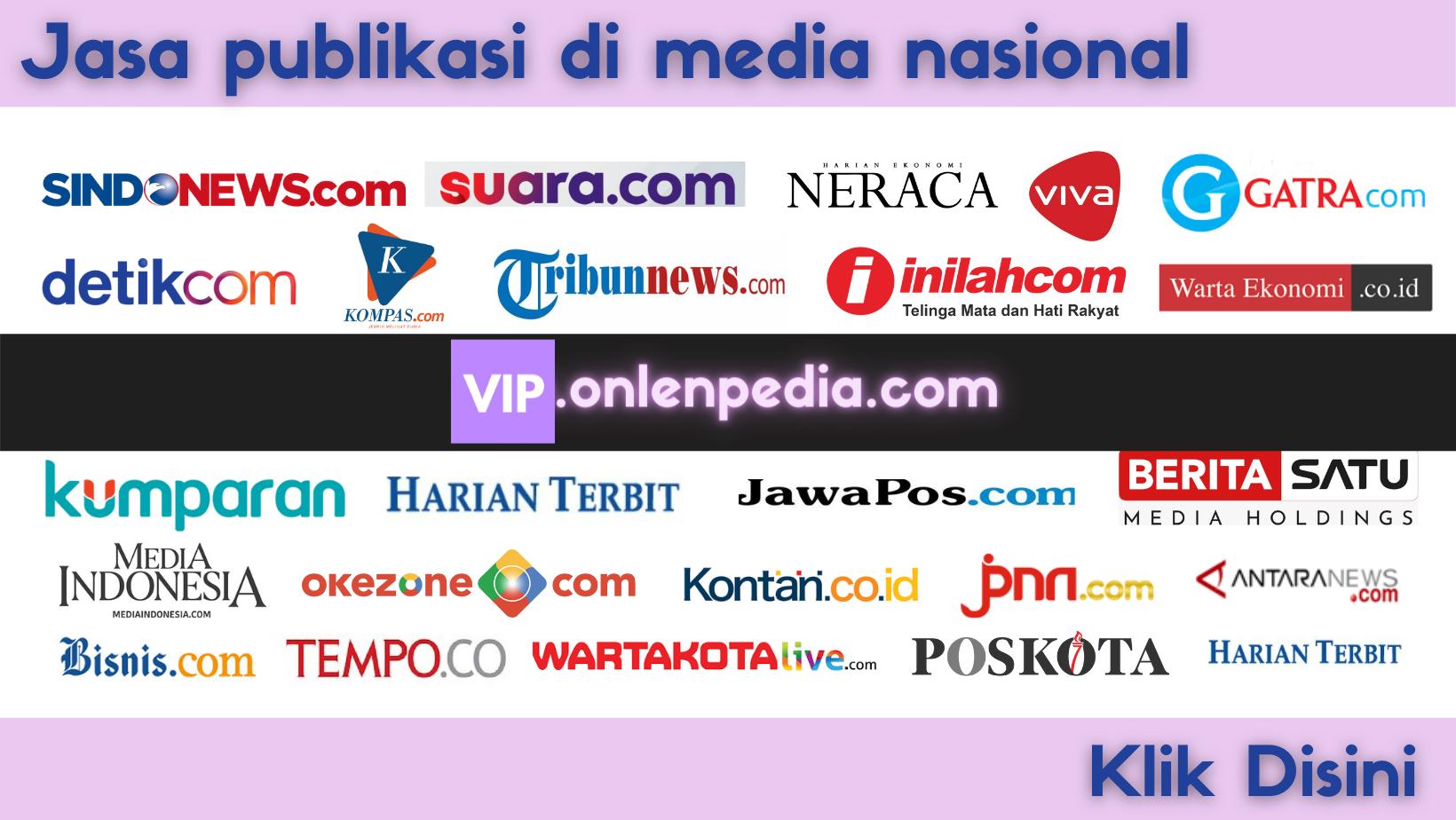 jasa publikasi di media online nasional ternama