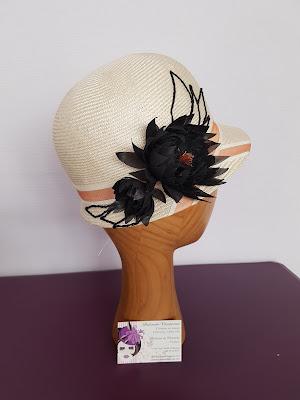 chapeaux de cérémonie, bijoux de tête mariée, chapeaux de ville www.patouchechapeaux.com