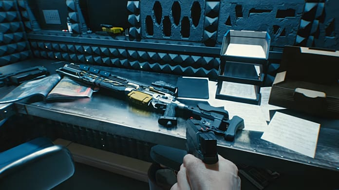 How to holster a weapon in Cyberpunk 2077?