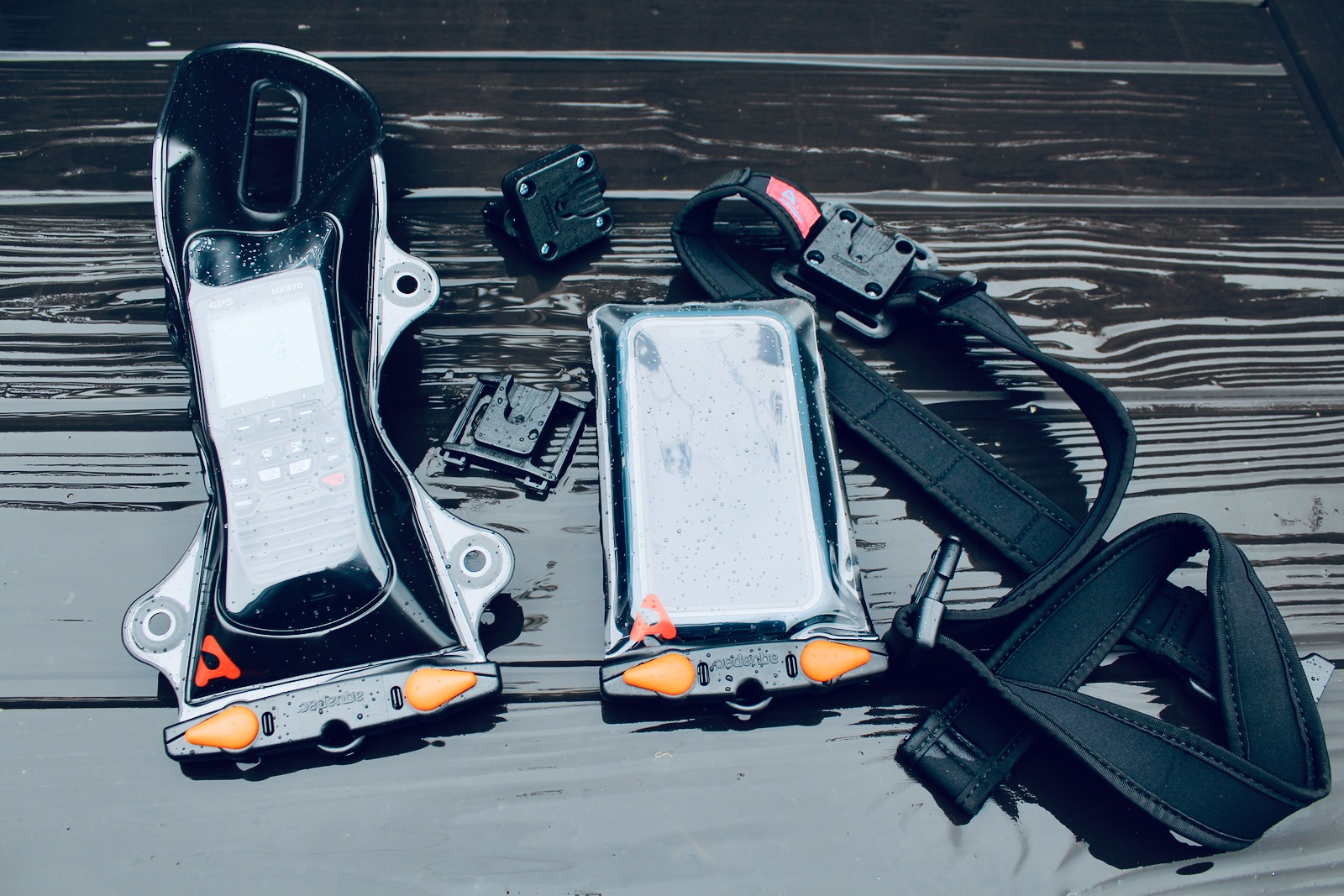 Aquapac Extreme Pro DockSystem Waterproof Phone and VHF Cases