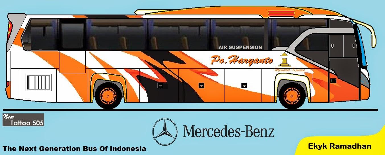 Desain Bus Indonesia Kumpulan Desain Bus