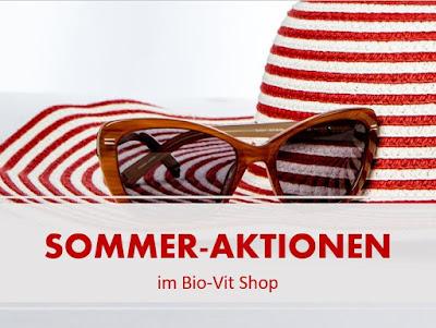 Achtung! Ab sofort gibt es neue Sommer-Aktionen im Bio-Vit Shop!