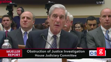 MONTAGE: CONFUSED-LOOKING MUELLER REPEATEDLY ASKS FOR QUESTIONS TO BE REPEATED