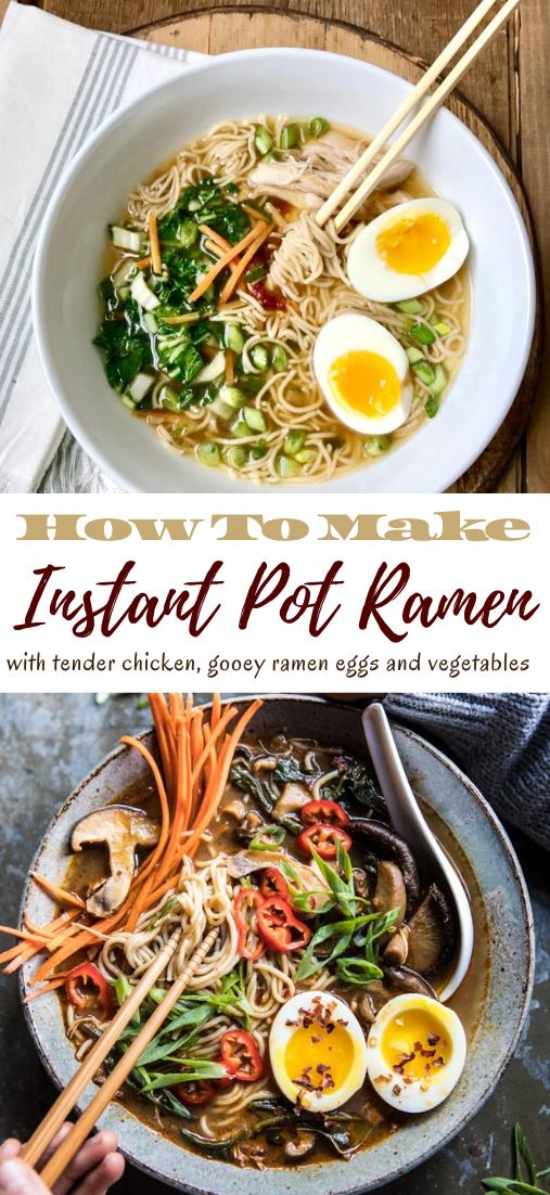 Instant Pot Ramen #dinnereasy #quickandeasy #dinnerrecipe #lunch #amazingappatizer