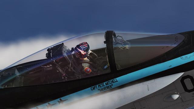 Et voici Tom Cruise de retour en Maverick dans Top Gun : Maverick !